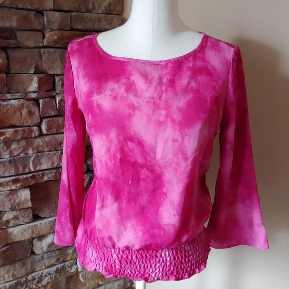 Michael Kors Tops - Michael Kors stunning hot pink summer blouse